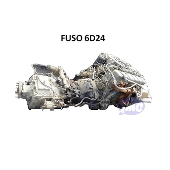 MITSU-BISHI FU-SO 6D24 USED ENGINE WITH GEAR BOX