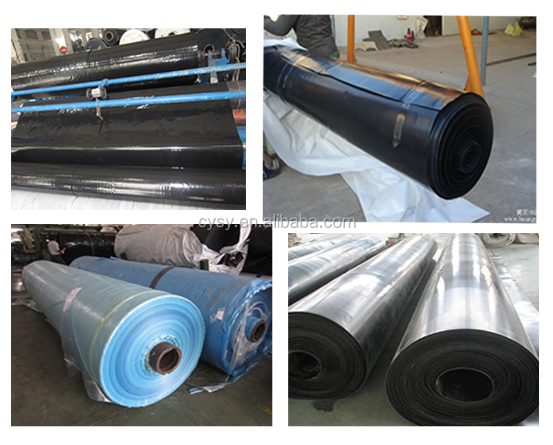Blue fish farm pond liner hdpe liner for shrimp farming for Blue koi pond liner