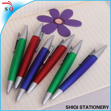silk printing push and tip hot selling pen