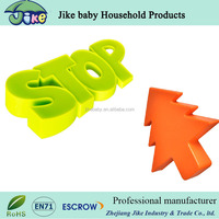 Amazon customized baby protection silicone rubber door stopper