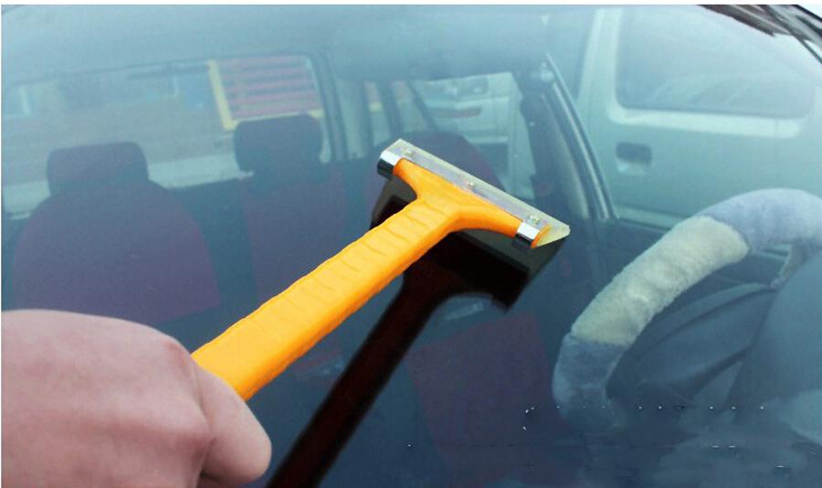 Обновление дизайна 100% пластиковые автомобильной снег лопатой / скребок для лобовое стекло автомобиля