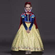 Alta qualidade vestido de princesa sofia para meninas branca de neve Cosplay festa de natal tutu vestidos
