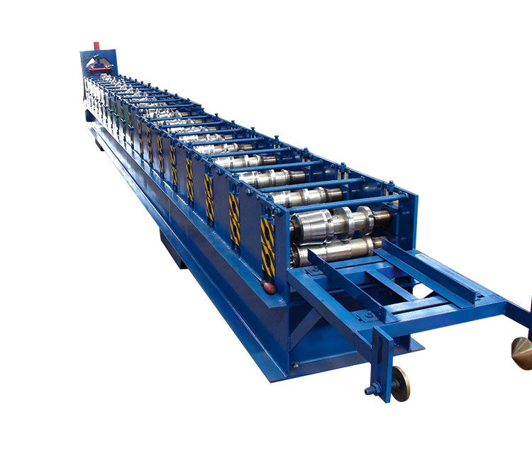 new design 2020 canton fair xinnuo metal seamless rain gutter cold roll forming machine