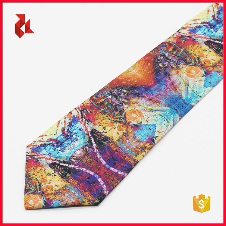 Good Quality Beautiful Silk Printed Necktie for Men