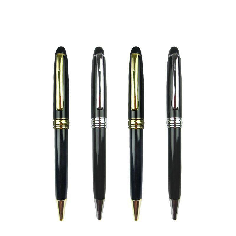 Twist Hotel Branded Luxury mont metal BallPoint Pens Retractable montblank style ball pen MB pen