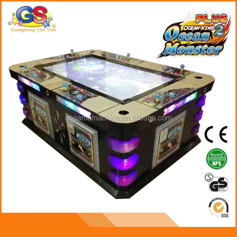 Exciting Interesting Card Token Operated Best Arcade Reel Em In Fishing Slot Machine Video Game Console Board
