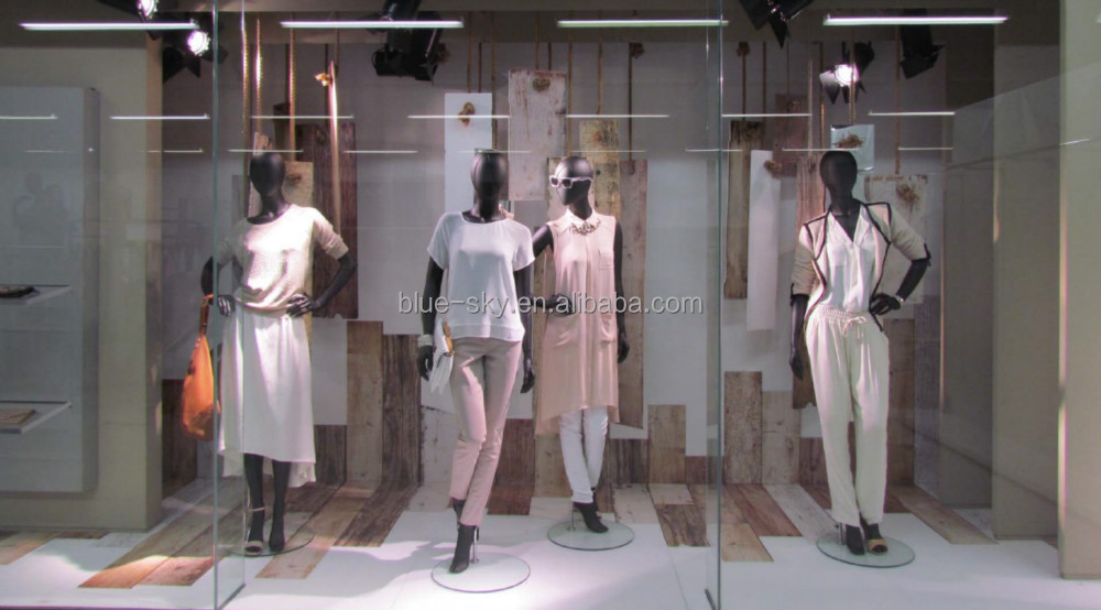 Artificial Wood Retail Window Dressing Display Props,Visual ...