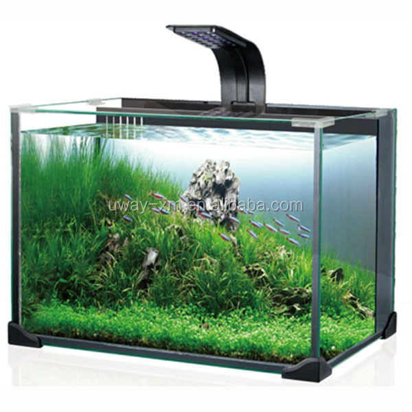 27l High Quality Electronic Aquarium Fish Tank With Led Light ...