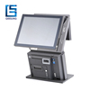 "AIO-801 15""+12"" qr code pos terminal/pos touch 15 all in one/pos terminal nfc"