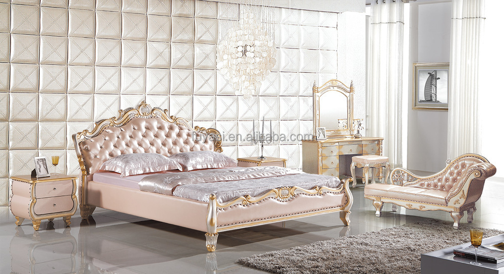 China Bedroom Furniture Princess Pack King Size Bed Night