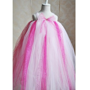 Handmade cheap price tutu dress children fairy dress crochet top tutu lined ribbon flower tutu wedding dress
