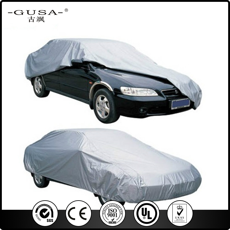 cheap waterproof oxford coated silver flood hail proof car cover with high quality
