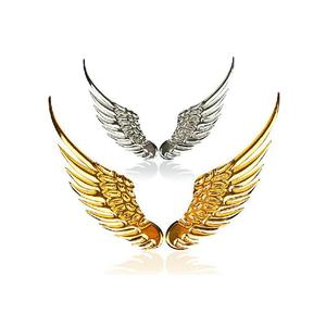 Metal Angel's Wings Badges Emblems 3D Sticker