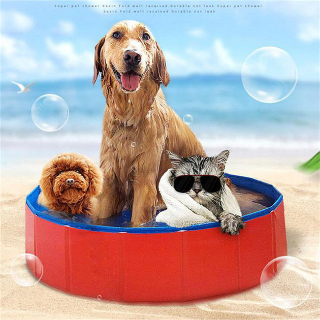 Summer Large Swimming Pet Dog Grooming Bathtub Foldable