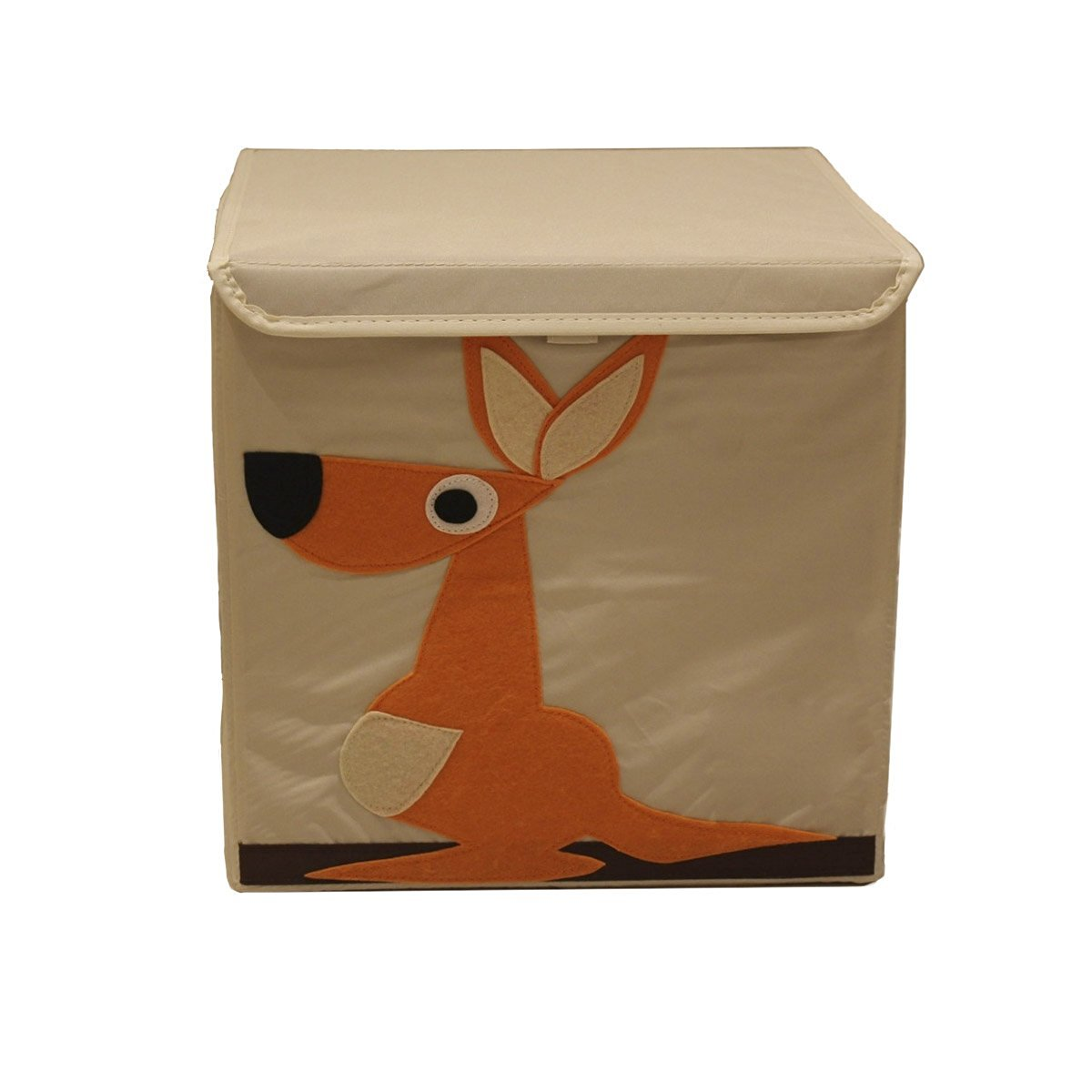 Incroyable Haller Children With A Lid Cartoon Animal Pattern Storage Box Storage Box,13  X 13