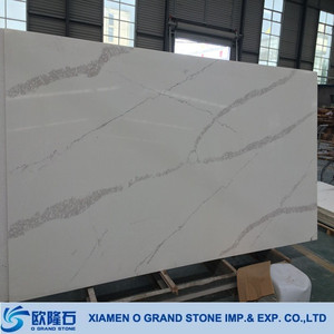 Modern Statuario Quartz White for Countertop,Flooring