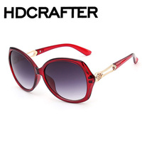 High Quality Fashion Sunglasses Outdoor Sports Frame Glasses Colorful film Brand Spectacle Lens Gradient Cat Eye Sunglasses