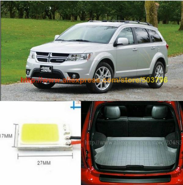 2 шт. / Lot суперяркий высота электропитание Cob 12 v автомобиль из светодиодов ствол или грузового пространства лёгкие для Dodge путешествие 2009