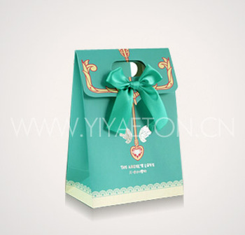 Special Design Ramadhan Kurma Gift Box With Bowknot