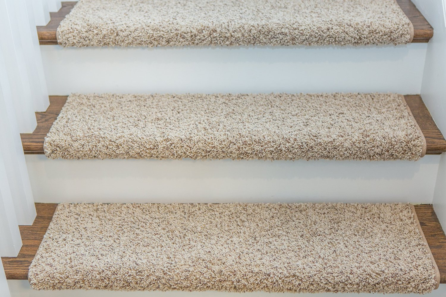 Get Quotations Single Windsor Adhesive Bullnose Carpet Stair Tread 27 W Sand By Castle