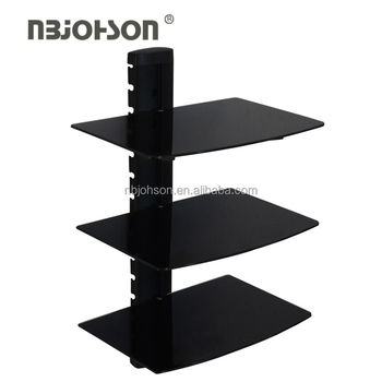 High Quality Wall Mount Tv Console Three Wall Mount Shelf Dvd player(AV-033)