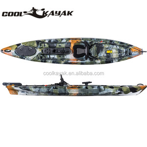 fishing kayak with pedals and kayak accessories