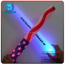 4.5*40cm CE and RoHS Certificate Stock led flashing foam glow wand