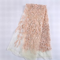 Wholesale new design beaded lace unique clothing dress for bridal check fabric polyester
