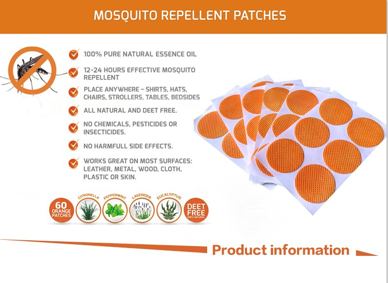 1800pcs 30bags Set Amazon Hot Selling Baby Anti Mosquito Repellent
