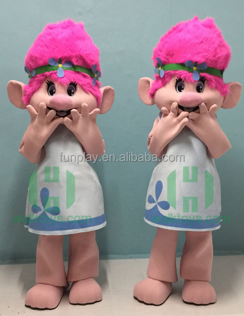 New arrivel!!!HI CE troll mascot costume for boy adult size,movie character famous mascot costume with high quality