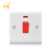 British standard 1 gang 20A DP electrical wall switch with indicator