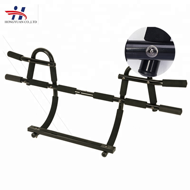 Fitness gym equipment door gym bar steel pull bar home gym equipment