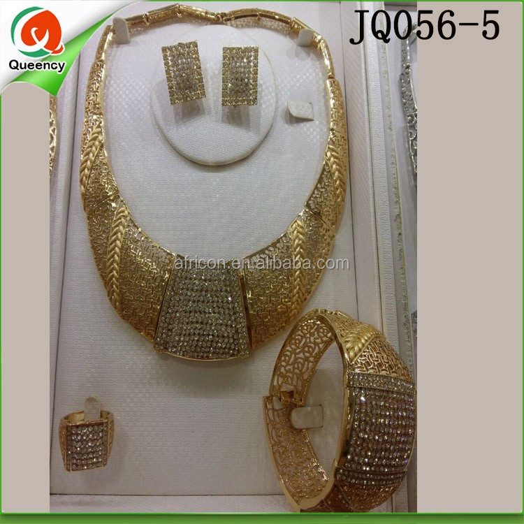 Dubai Gold Jewelry Set Gold Plated Jewelry Sets Jewelry ...