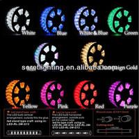 holiday lighting ip44 110v-230v extendable waterproof led rope light