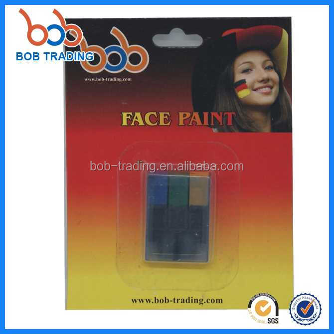 good factory Germany series face paint fluorescence oil based face body paint