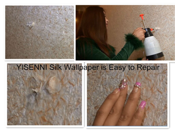 Yisenni Asian Texture Wall Pint,Interior Wall Gillter Paint