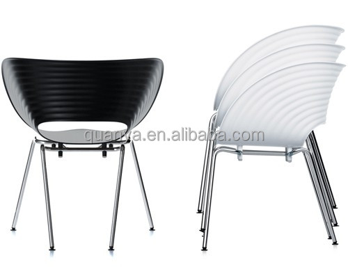 modern high quality ABS dining chairs, Tom vac chair