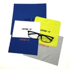 Personalized Logo Silkscreen Printed Bulk Microfiber Eyeglass Lens Cleaning Cloth
