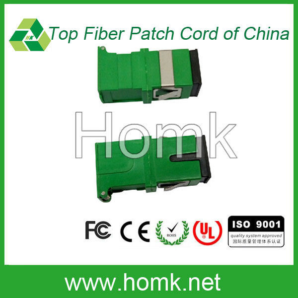 SC APC Green Big D SM MM Optical Fiber Adapter/ Fiber Optic Adapter /Fiber Optic Coupler