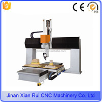 Polyurethane foam cutter cnc machinery manufacturers 5 axis 1225 cnc router/machine to make wooden beads