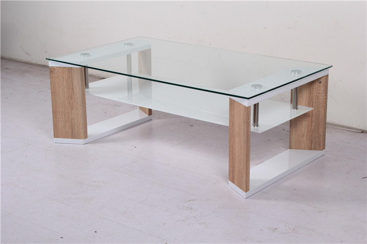 modern cheap glass wooden coffee table with glass top buy modern coffee table wooden tea table. Black Bedroom Furniture Sets. Home Design Ideas