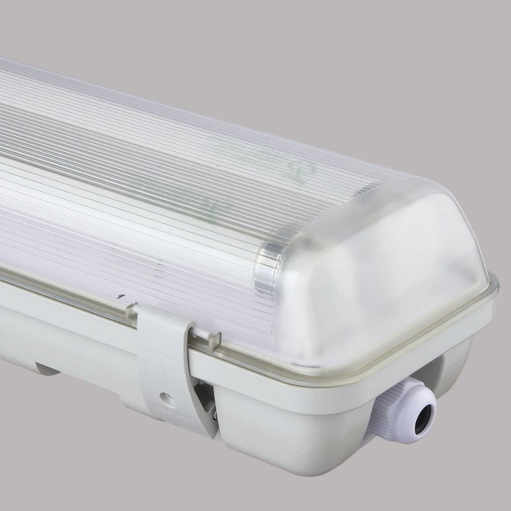 2016 New Design Fluorescent Light Fixture Plastic Cover