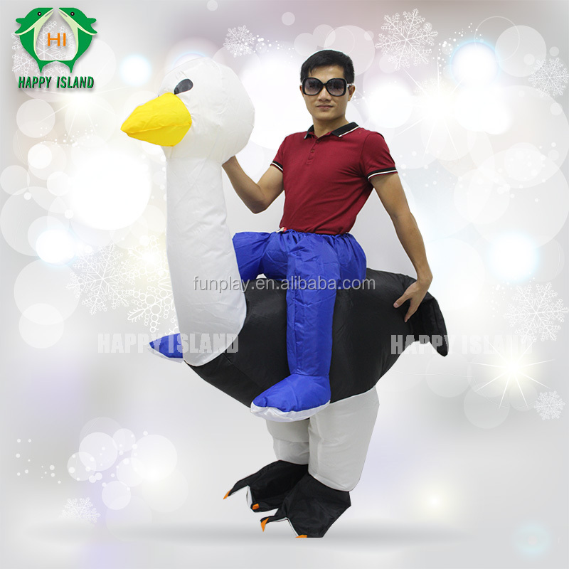 High quality!inflatable ostrich costume ,white bird costume ,interested costume
