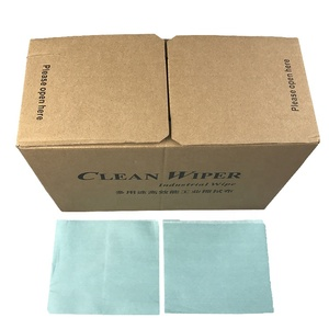 300pcs JEJOR Green Disposable Non Woven Cellulose Industrial Paper Wiper