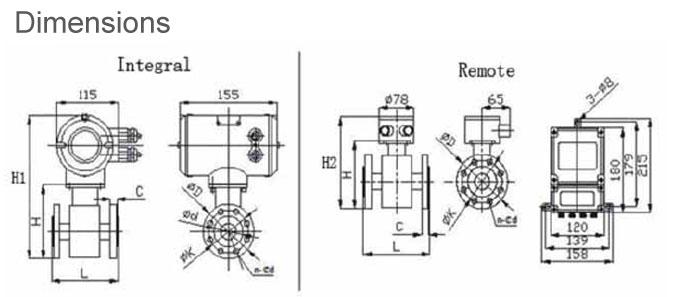 tem82e franchise in china electronic water meter