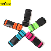 Travelsky 1301805 elastic luggage short hanging safety belt for travel bags