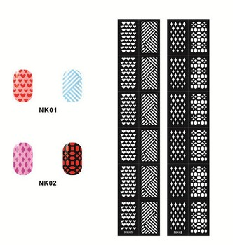 New arrival 12 tipssheet nail vinyls easy use nail art 12 tipssheet nail vinyls easy use nail art manicure prinsesfo Choice Image