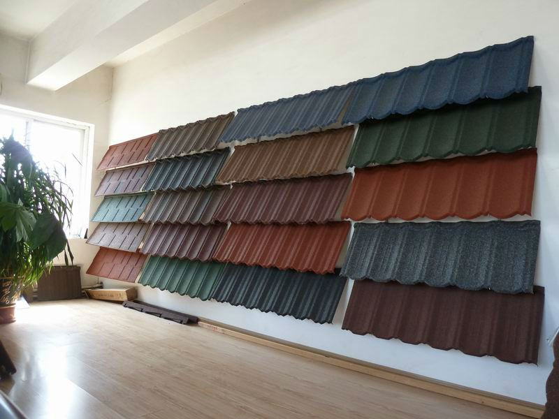 Solar Roof Tiles Stone Coated Metal Roof Tile For House,Stone ...