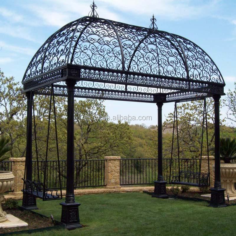 Finden Sie Hohe Qualität Eisen Pavillon Rahmen Hersteller und Eisen ...