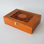 Custom wholesale different styles primary colour wooden gift box